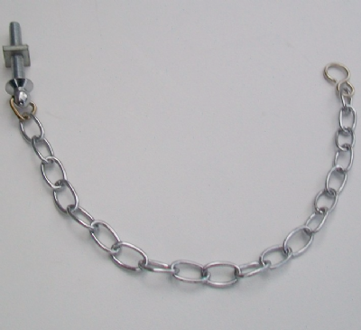 Chrome Chain Link Basin Plug Chain and Stay - 74000050